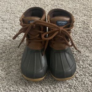 Toddler Sperry Duck Boots